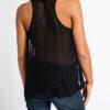 Ruffled silk-chiffon gown Blouse