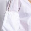 Crisp Cotton-poplin blouse